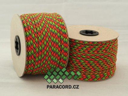 Paracord 550 - špulka 50m VIRUS