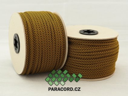 Paracord 550 - špulka 50m GOLD DIAMONDS