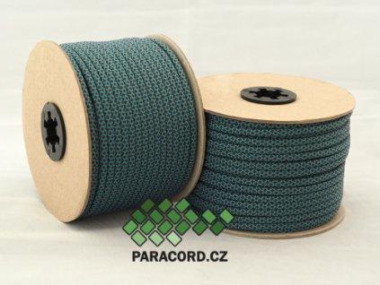 Paracord 550 - špulka 50m BLUE/BROWN DIAMONDS