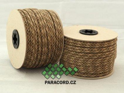 Paracord 550 - špulka 50m SAND CAMO