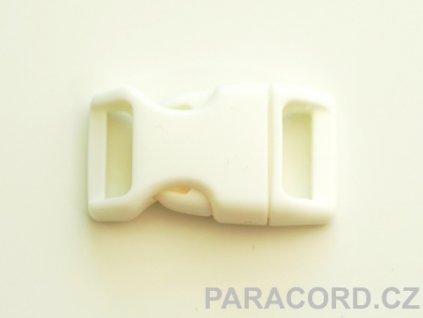 spona trojzubec - bílá (16mm)