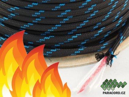 FIRE CORD - černá/modrá