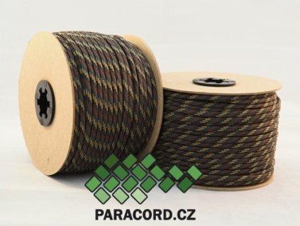 Paracord 550 - špulka 50m CAMO
