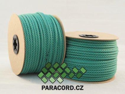 Paracord 550 - špulka 50m GREEN DIAMONDS