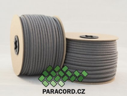 Paracord 550 - špulka 50m ZEBRA