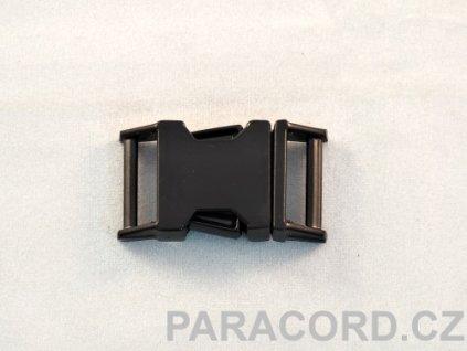 Spona trojzubec - kovová (16mm) černěná
