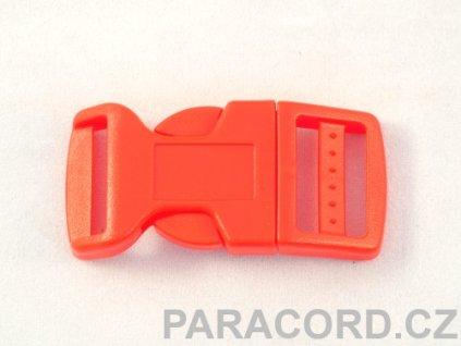 spona trojzubec - červená (20mm)