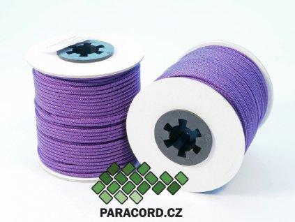 Paracord 100 - špulka 50m FIALOVÁ