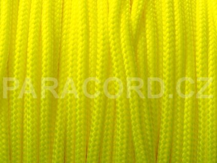 TYP II. Paracord 425 - neon žlutá