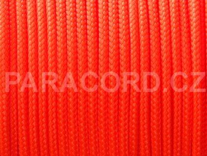 TYP II. Paracord 425 - neon oranžová