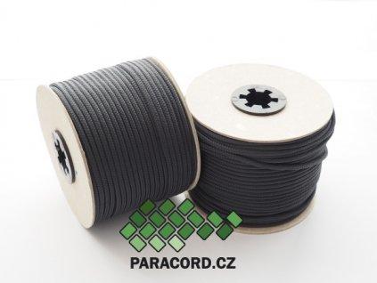 TYP II. Paracord 425 - špulka 50m ANTRACIT