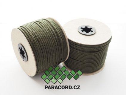 TYP II. Paracord 425 - špulka 50m OLIV