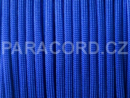 Paracord 550 - elektrická modrá
