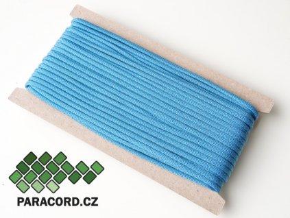 Paracord 550 - karta 25m NEON BLUE DIAMONDS