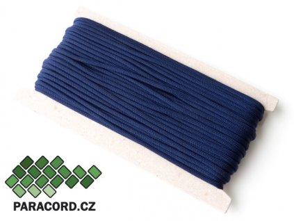 Paracord 550 - karta 25m PŮLNOČNÍ MODRÁ