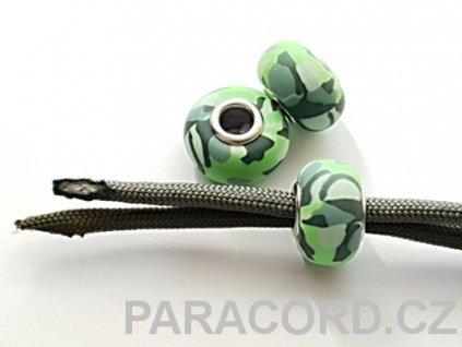 Korálek ARMY - zelený