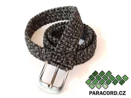 Paracord survival opasek - NIGHTMARE (120cm)