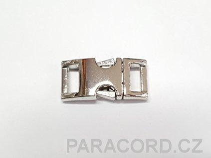 Spona trojzubec - kovová (10mm)