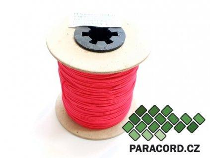 PES šňůra vyplétací 1,5mm (100m) - tmavá magenta