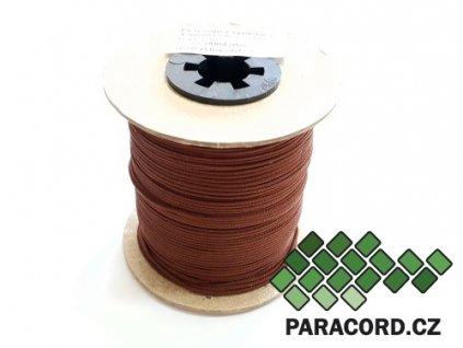PES šňůra vyplétací 1,5mm (100m) - hnědá