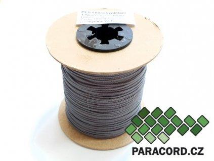 PES šňůra vyplétací 1,5mm (100m) - šedozelená