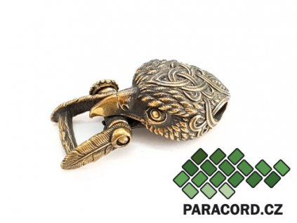 Spona ruční výroba - orel bronz