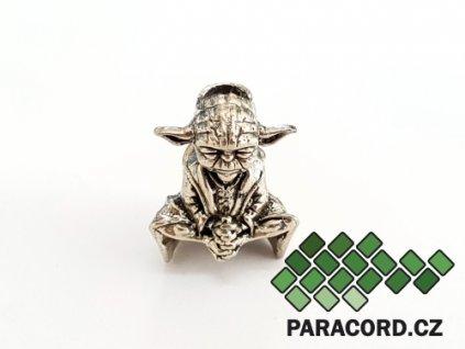 Korálek ruční výroba - Mistr Yoda