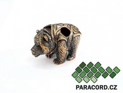 Korálek ruční výroba - medvěd