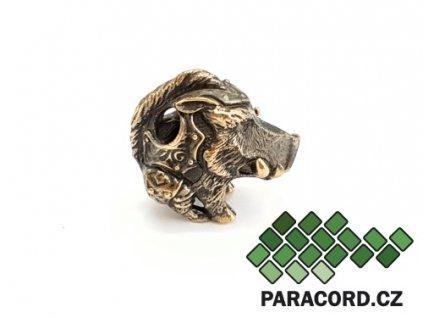 Korálek ruční výroba - divočák