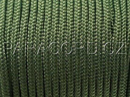 TYP II. Paracord 425 - tmavě zelená