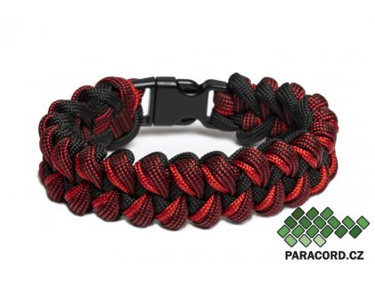 Survival paracord náramek RED DRAGON