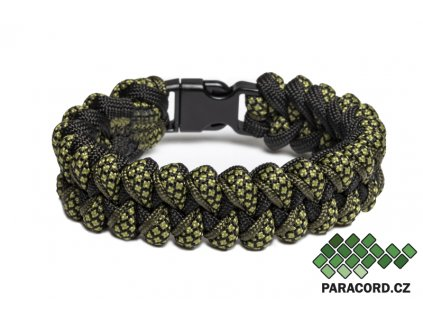 Survival paracord náramek CROCODILE