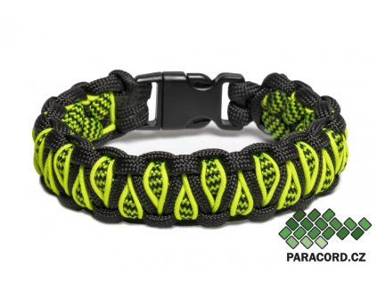 Survival paracord náramek DRAGON EYE