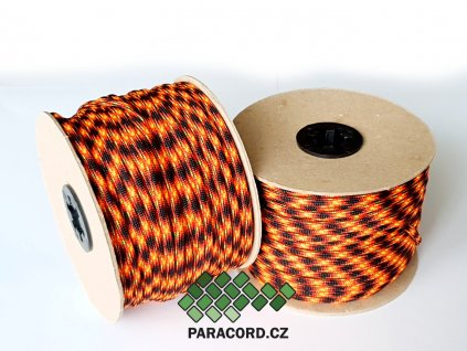 Paracord 550 - špulka 50m LAVA