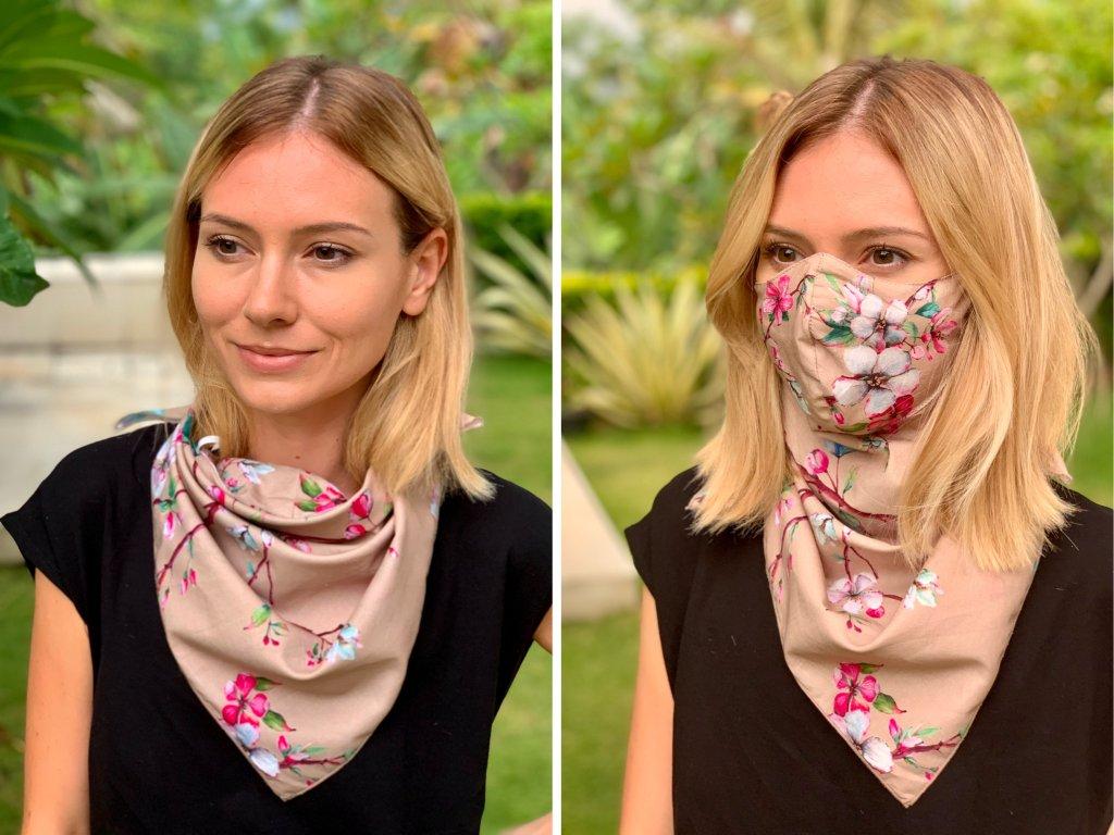 Multifunkční šátek s maskou (3.kolekce)