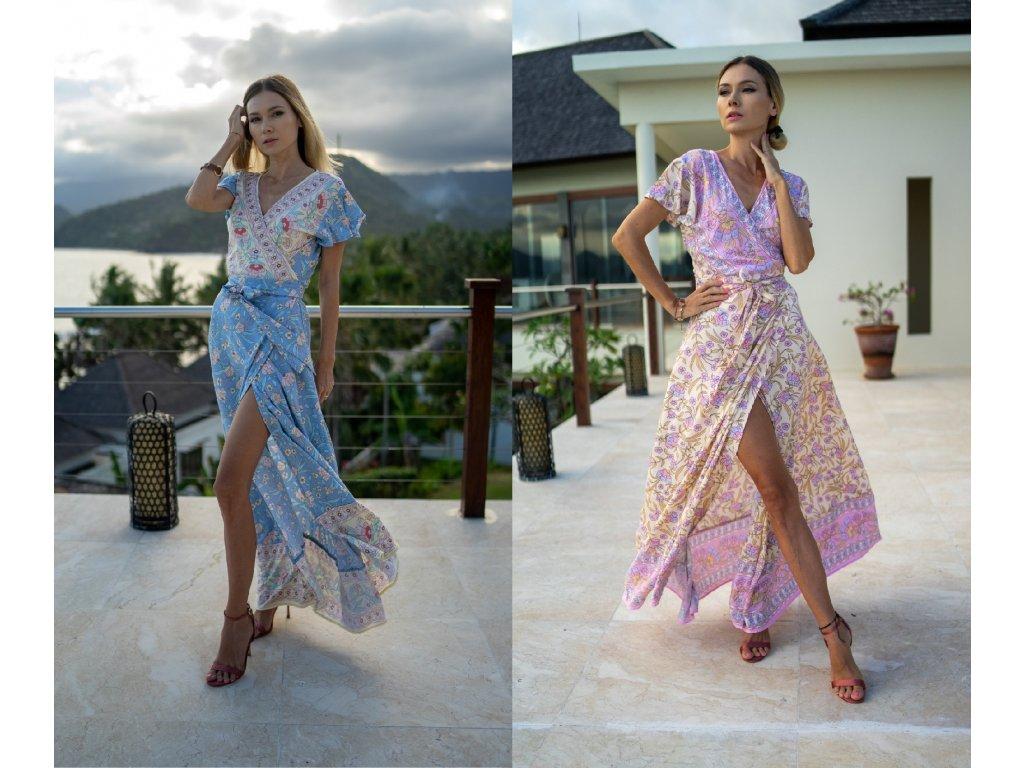 Dlouhé šaty SUMMER DREAM (7.kolekce)