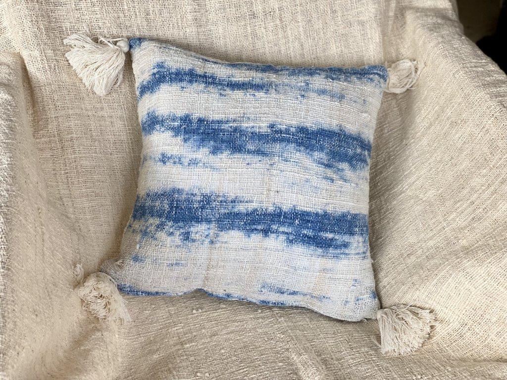 Ručně vyráběný povlak na polštář TIE DYE 4 (HOME)