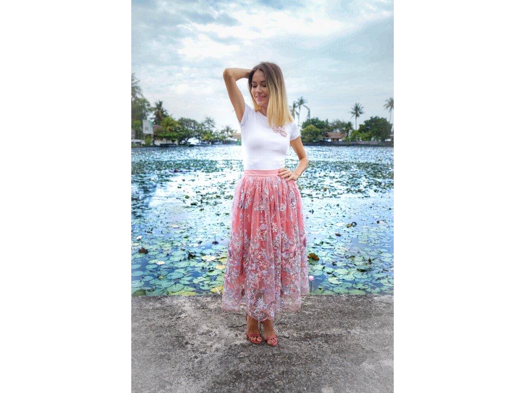 Tylová sukně CINDERELLA (10.kolekce)