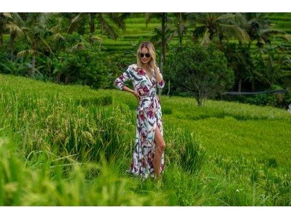 Dlouhé šaty ROYAL BRIGHT (pouze pro závaznou předobjednávku s dodáním v únoru 2021)