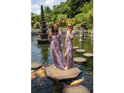 Dlouhé šaty ROYAL FLOWERS (3.kolekce)