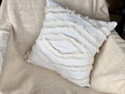 Ručně vyráběný povlak na polštář BOHO (HOME)