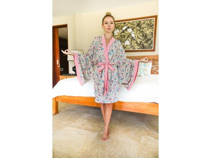 Pyžamové kimono / župánek OKINAWA (10.kolekce)