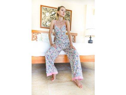 Pyžamo dvoudílné s tílkem OKINAWA (10.kolekce)
