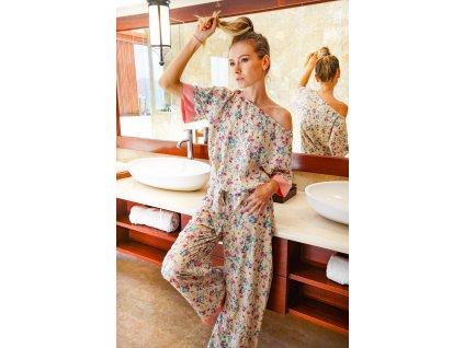 Pyžamo dvoudílné s halenkou OKINAWA (10.kolekce)