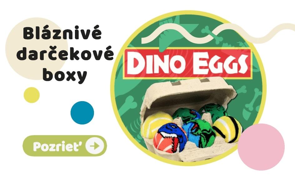 Dino Eggs - Darčekové balenie