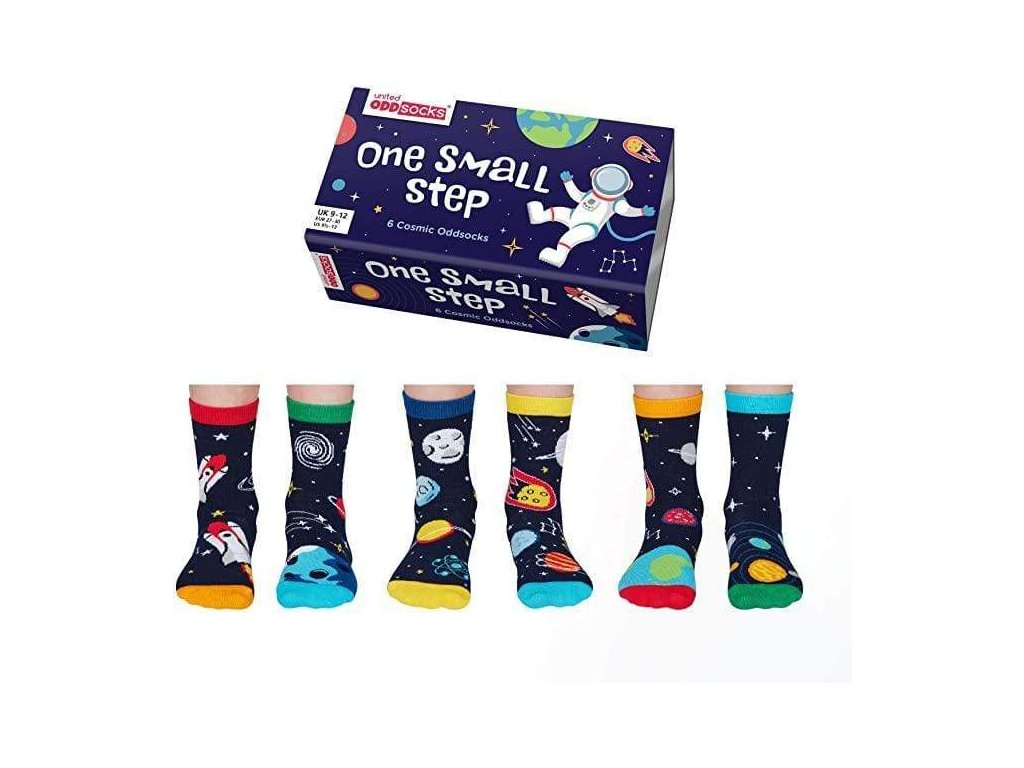 Detské veselé ponožky One small step veľ.: 27-30