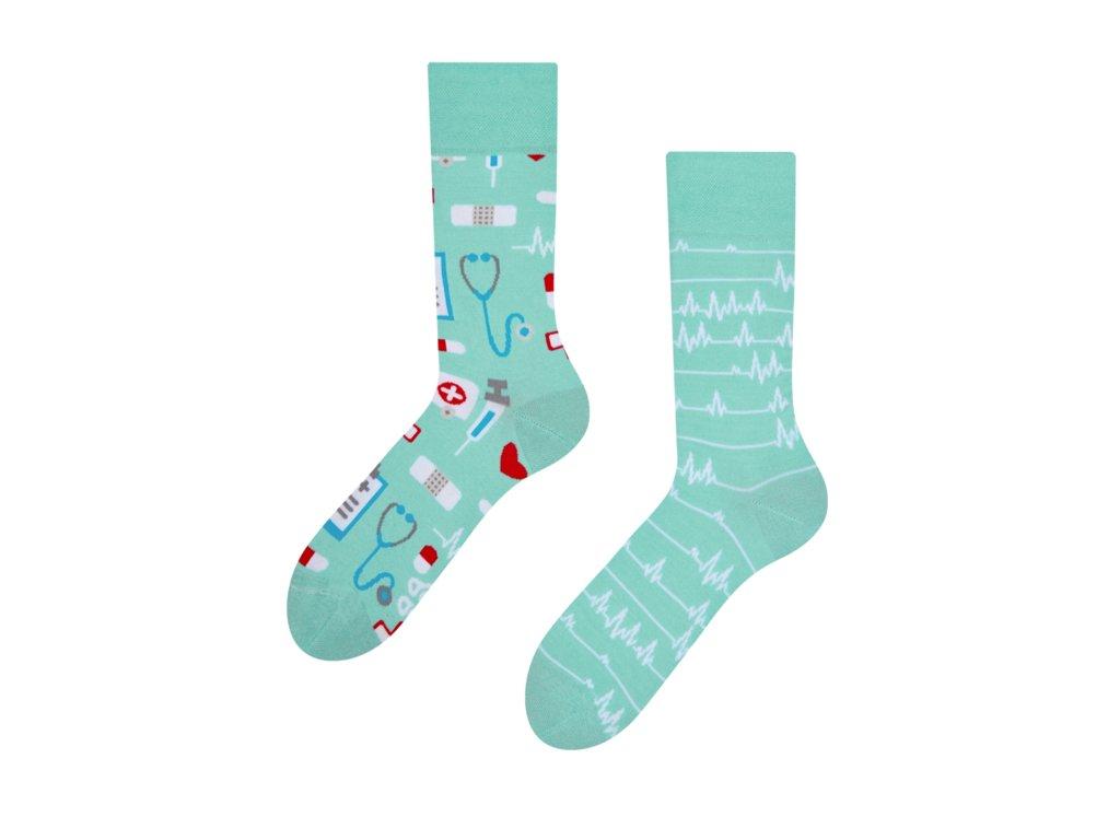 Veselé ponožky Medicína