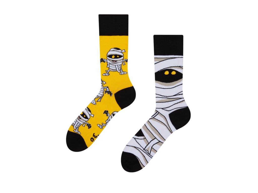 Veselé ponožky Múmia