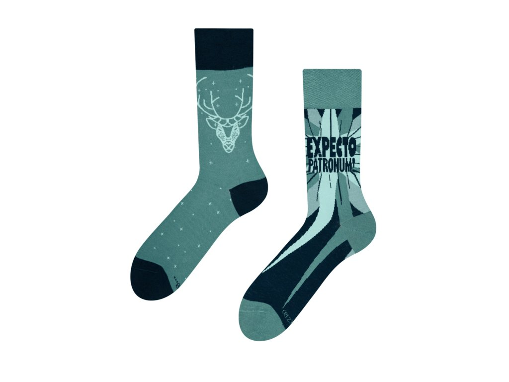 Veselé ponožky Harry Potter ™ - Expecto Patronum