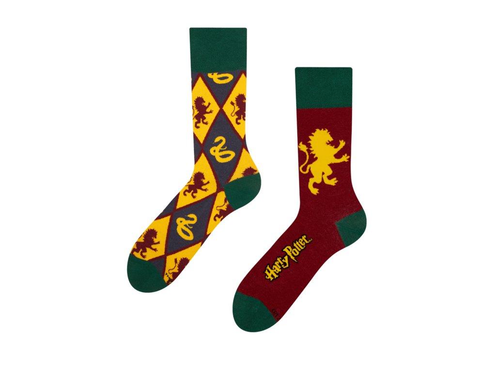 Veselé ponožky Harry Potter ™ - Chrabromil vs Slizolin